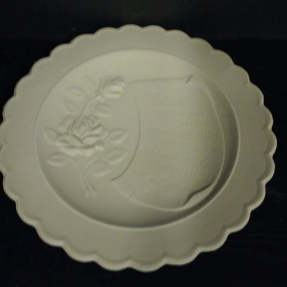 Ceramic mother plate plaque diy unfinished or finished see for Diy ceramic plates
