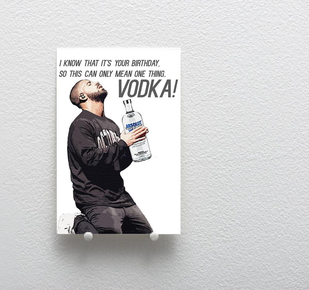 Birthday Card Drake Greeting Card Funny Greeting Card Funny – Drake Birthday Card