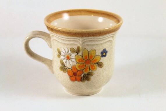 Vintage Mug Mikasa Garden Club Spring Bouquet Coffee