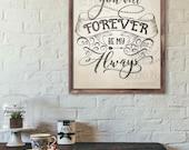 Wedding Gift Etiquette 3rd Marriage : Wedding Art, Rustic Anniversary Gift, Wedding Photo Prop, Rustic Art ...