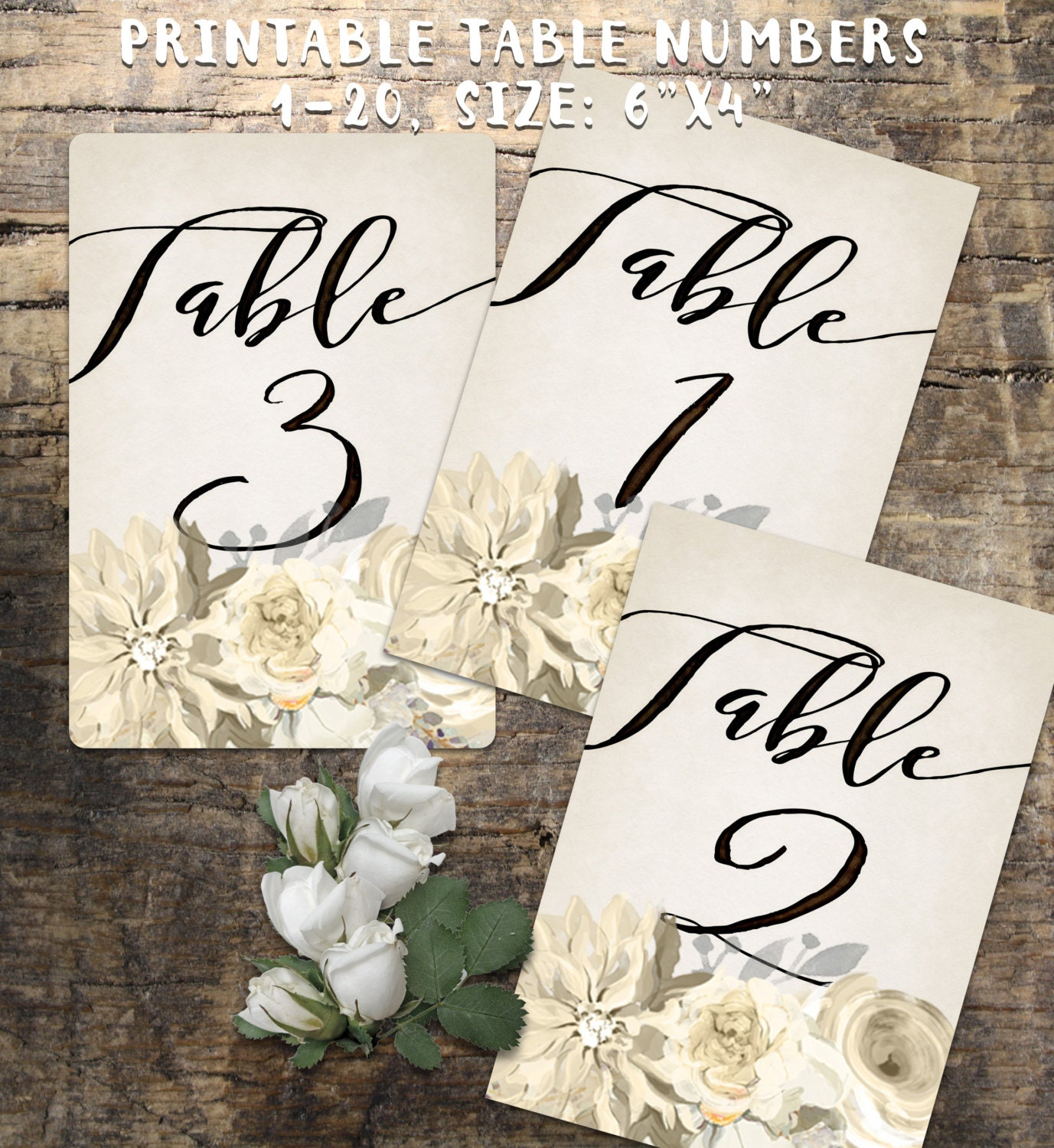 It's just a graphic of Candid Free Printable Table Numbers 1-20