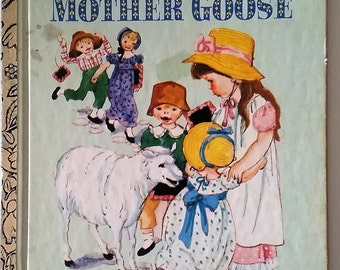 Eloise Wilkins Mother Goose little golden book