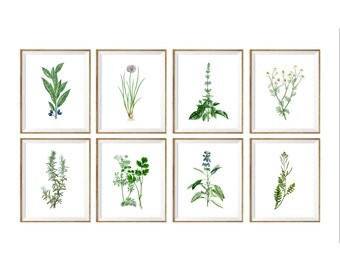 Kitchen gallery wall   Etsy