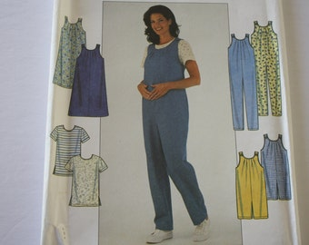 MATERNITY Sewing Patterns, Jumpsuit /Shorts, Jumper, Top patterns, size 18, 20, 22 UNCUT Simplicity 8580