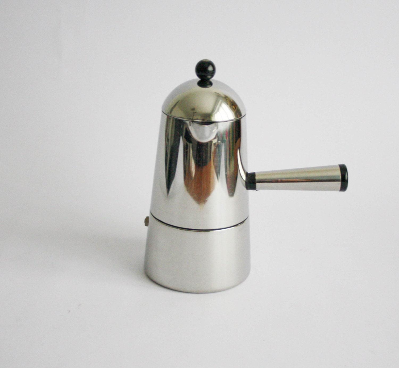 Jahrgang Lavazza Carmencita Herd Kaffeemaschine 6 Tassen