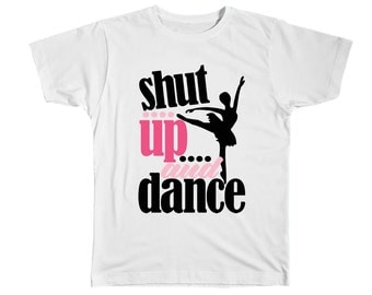Kids Dance Shirt - Dance Gifts - Ballet Shirt - Ballerina Party - Kids T-Shirt - Girls Shirt - Dance T-Shirt - Kids Dance Tee - Dance Tshirt