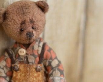 Chok Artist Teddy Bear OOAK
