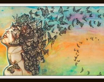 Metamorphosis by Calen Blake Limited Edition Print