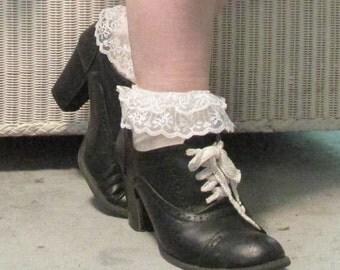 Ruffle Ankle Socks