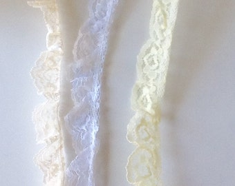 "1"" Ruffled Lace"