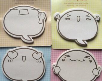 Emoji Sticky Note Memo Paper