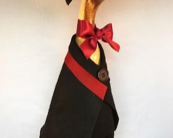 Wooden Graduation Duck