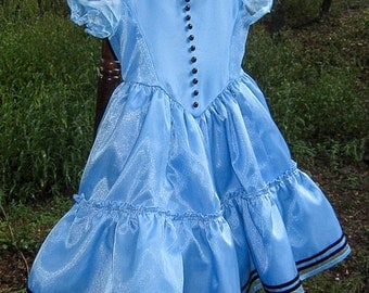 Alice in Wonderland toddler dress