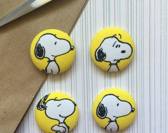 Snoopy Magnets, Snoopy, Magnets, Magnet, Refrigerator Magnet, Fabric Covered Magnets, Fridge Magnets, Cubical Space, Snoopy Swag