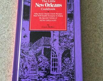 Vintage Cookbook The Little New Orleans Cookbook Cajun Creole Louisiana
