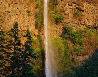 Mutnomah Fall Columbia River Gorge Oregon...mounted print!!