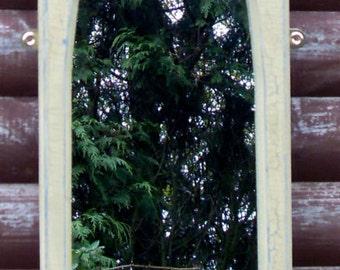Cloister Interior Gothic Mirror.