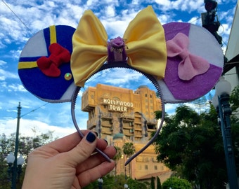 Donald and Daisy Duck Inspired Minnie Ears