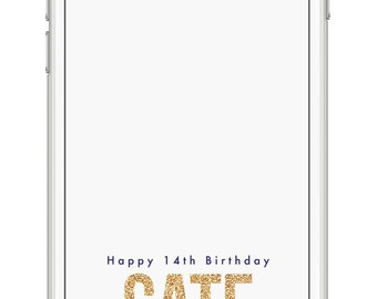 HAPPY BIRTHDAY Snapchat Geo-Filter// Customized // Avail. in 24 hours via Email! // Perfect Gift!