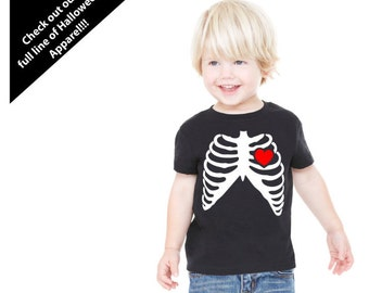 Rib Cage Heart Tee Shirt! Baby/Toddler/Kid