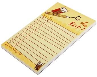 List Notepad - Fun Gift for Teacher - Checklist Notepad - Teacher Notepad - Teacher Gifts Christmas Teacher Gifts for Teachers Christmas