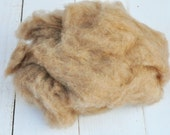 Camel Fluff - Natural Colored Camel Fiber - Washed - Art Fiber - 1 Ounce