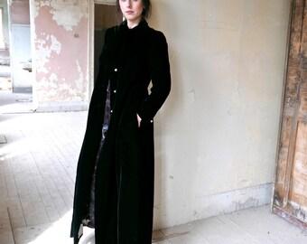 Velvet Opera Coat Size Small US 4 - 6