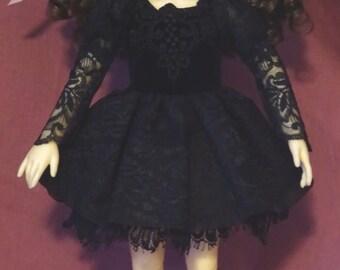 BJD MSD dress for Dolmore Kid MSD, Lierre, Eve, Planetdoll or similar sized dolls