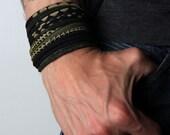 Burning Man, Mens Cuff Bracelet, Mens Bracelet, Festival Clothing, Husband Gift, Burning Man, Boyfriend, Cuff Bracelet, Festival