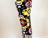 Christmas Leggings, womens leggings, yoga Leggings, tribal leggings,snowflake leggings,aztec leggings,skull leggings, printed leggings