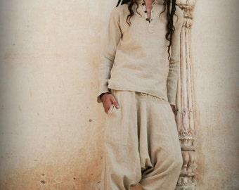 Short Kurta ~ raw cotton ~