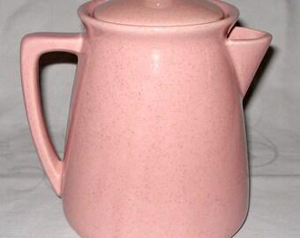 Pink Vintage 1950s McCoy Coffee Pot