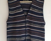 Cardigan vest for men size medium