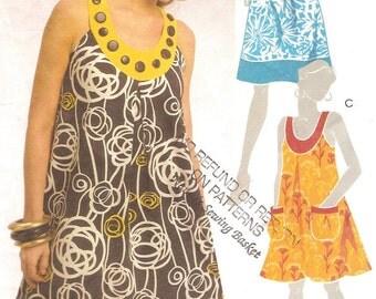 Summer Fun Dress Plus Size 18W 20W 22W Pattern