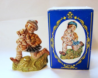 TOM PIPER Wade Figurine, Large Wade Whimsies, Made in England from Tom Tom Piper Son  Wade Rhyme Figurine with Box