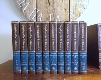 The New Encyclopedia Britannica Macropædia, Micropædia, Propædia in 30 Volumes 15th Edition 1978