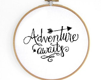 Adventure Cross Stitch Pattern