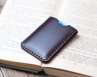 Personalized Credit card holder Credit card wallet Credit card case Credit card organizer Credit card sleeve Credit card holder leather
