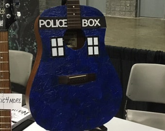 TARDIS Acoustic Guitar, Doctor Who