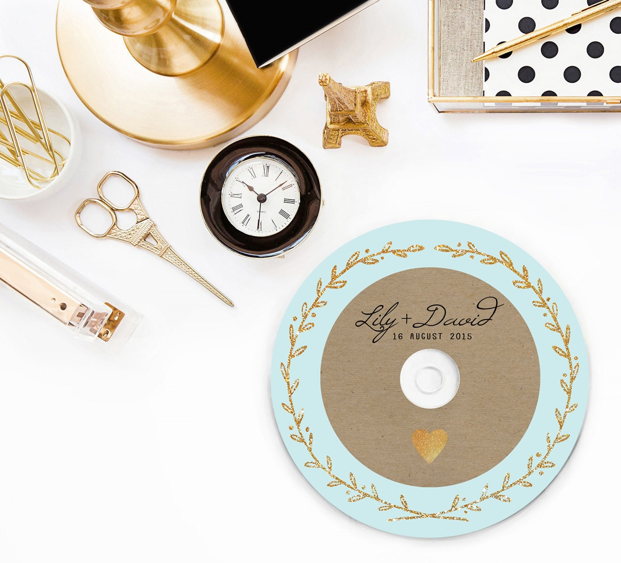 CD Labels Covers Cd Wedding Favors DVD Printed