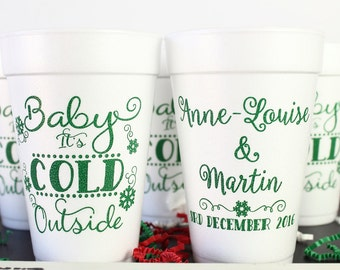 Hot Cocoa Bar, Hot Chocolate Bar, Hot Chocolate Favors, Hot Chocolate Gift, Hot Cocoa Favors, Hot Chocolate Mug, Holiday Hot Cocoa, Foam Cup