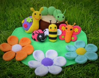Free Easy Crochet Patterns For Baby Toys : Amigurumi Pattern. 35 Crochet Play Food Patterns. Crochet