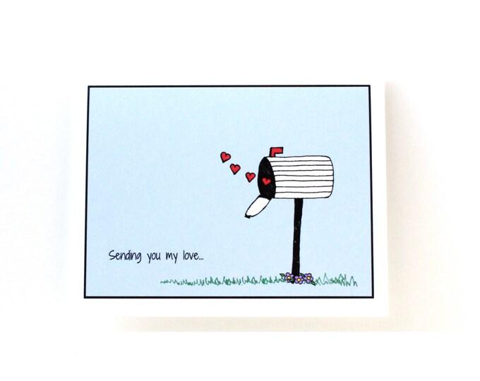 Miss You Card - Sending My Love