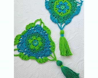 Boho Blossom Bunting - Instant Download - Crochet Pattern