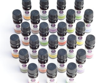 Essential Oils CHOOSE FROM 24 BOTTLES. Pure Natural Aromatherapy oils 10ml by Tender Essence