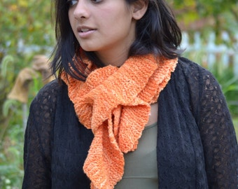 Hand Knit Scarf - Twirl with Me