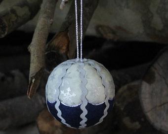 Patchwork Christmas ornament