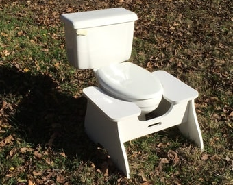 High POOP STOOP CLASSIC Full-Squat Toilet Foot Stool