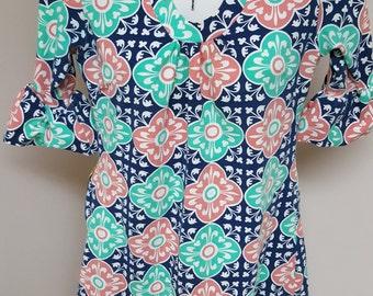 Beautiful Tracy Negoshian Colorful Mini Dress