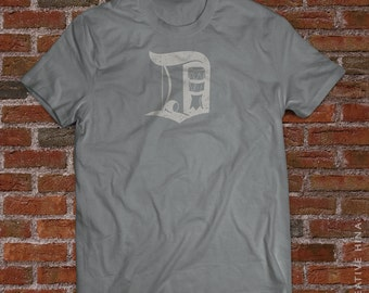 "Capoeira ""D"" Detroit Capoeira T-Shirt /Made In Detroit T-shirt/ Brazil"